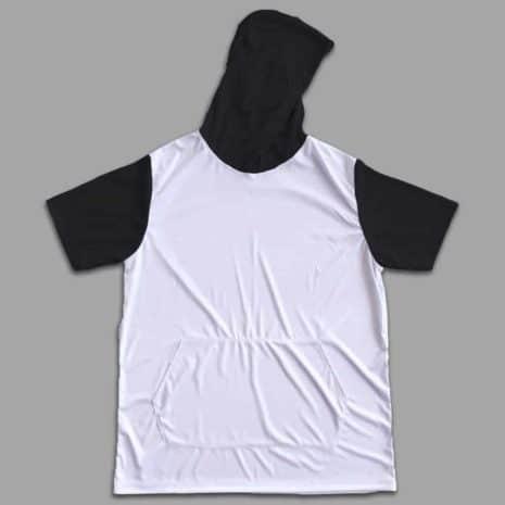 hooded shirt black extras